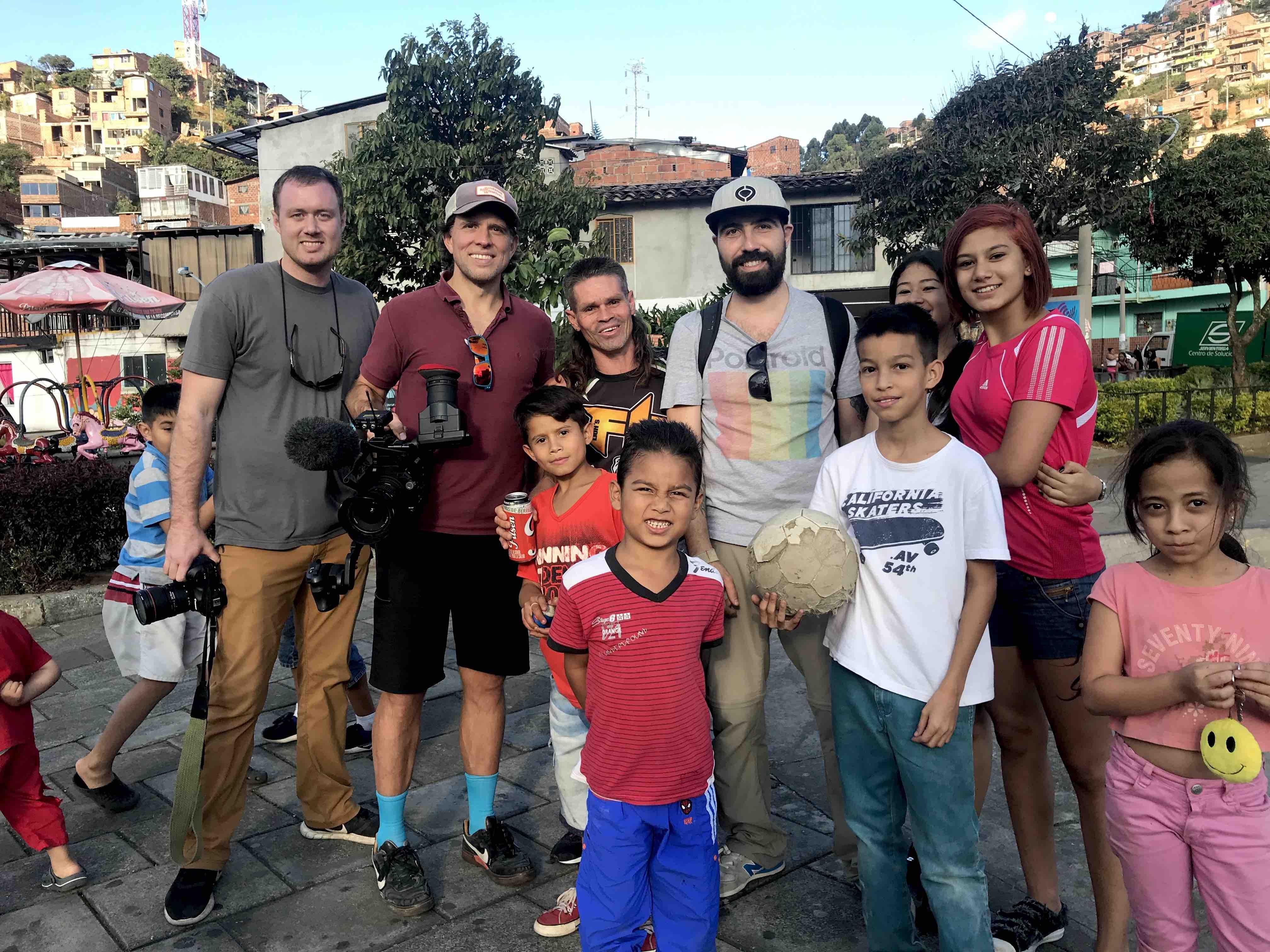 Dorst Mediaworks team in Medellin, Colombia
