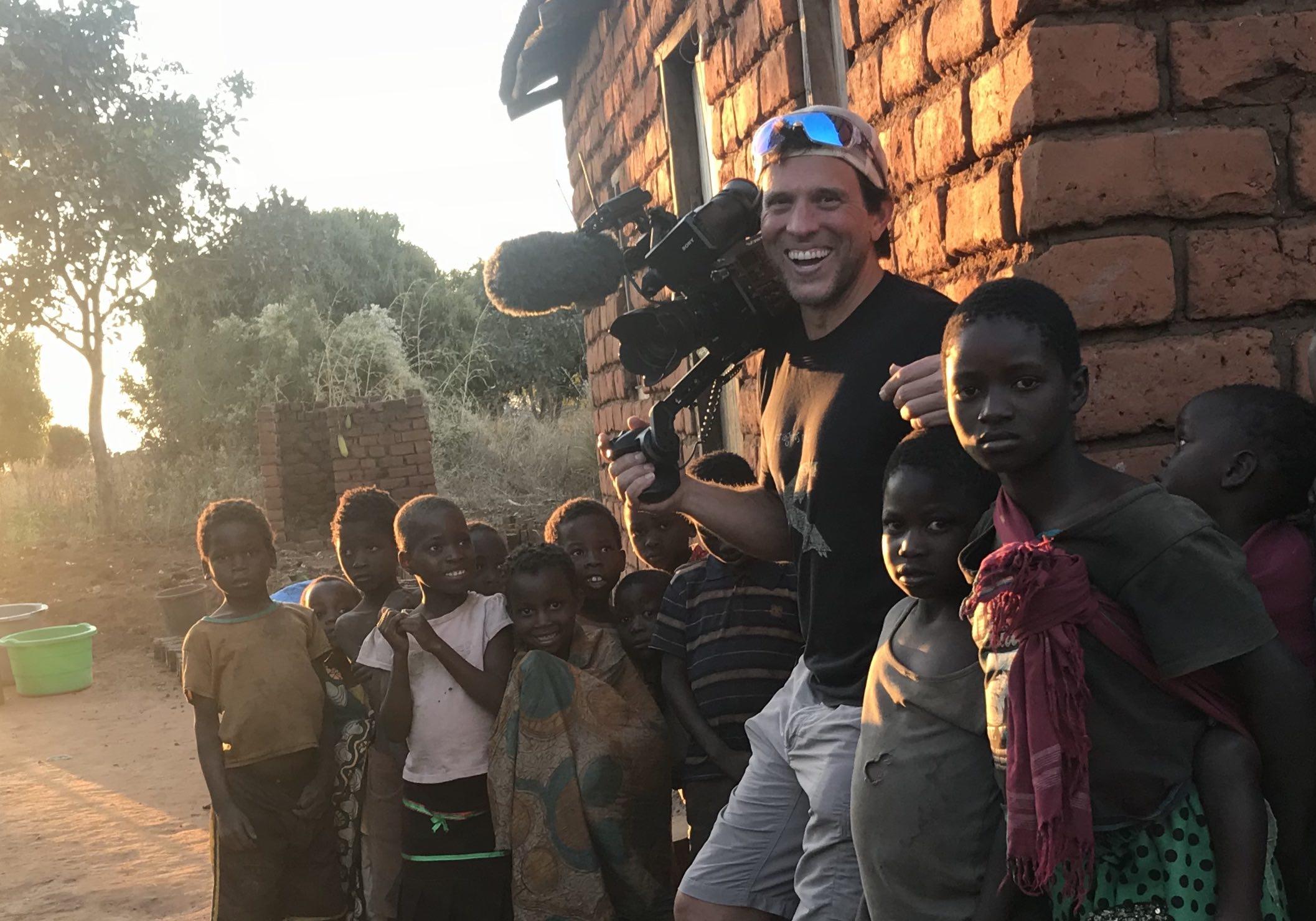 Dorst MediaWorks Director Steve Dorst on location in Malawi